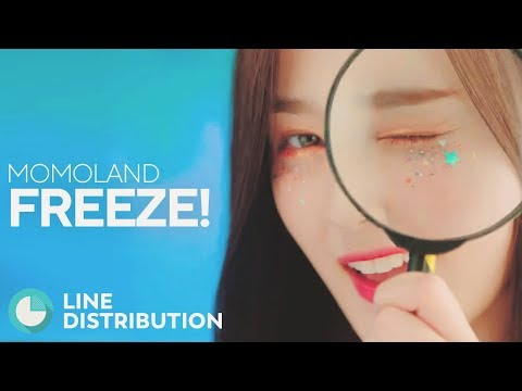 MOMOLAND - Freeze! (Line Distribution)