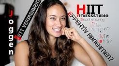 Wie kann ich Abnehmen - Richtig, effektiv trainieren - HIIT - Fitnessyoutuber - Fitness Motivation