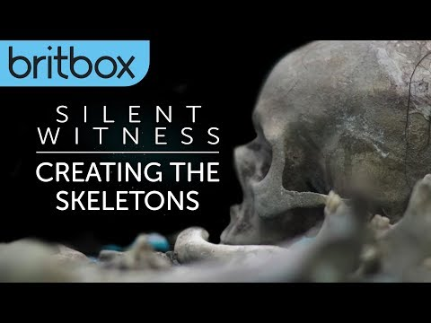 Silent Witness | Creating The Skeletons | BritBox