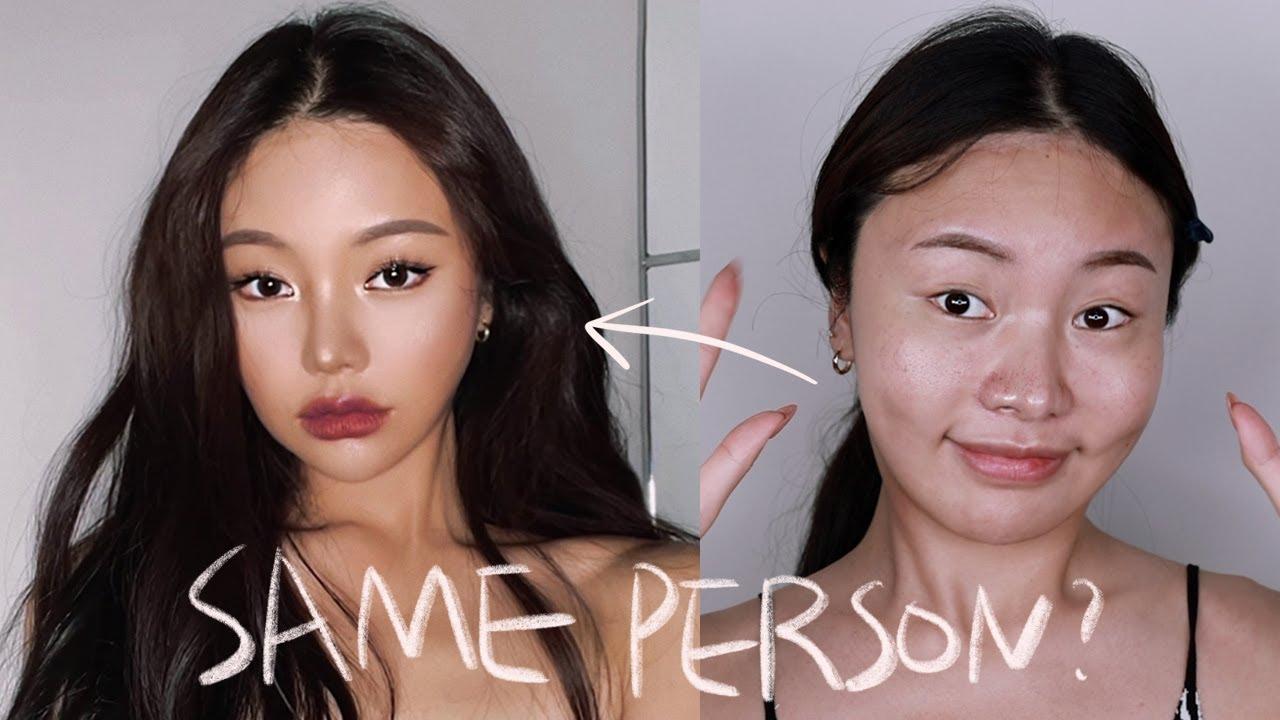 🖤힙쟁이 고양이 태닝메이크업🖤  :: Asian Baby Girl 🔥ABG🔥 Makeup Transformation