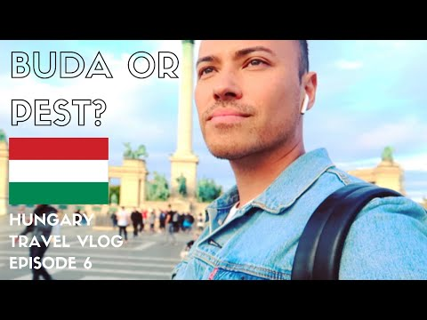 BUDAPEST TRAVEL VLOG | Sightseeing, Trying Langos + My First Ruin Bar | EPISODE 6