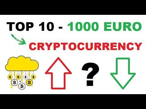 TOP 10 CRYPTOCURRENCIES 2018 | 1000 EURO CRYPTOCURRENCY INVESTEREN