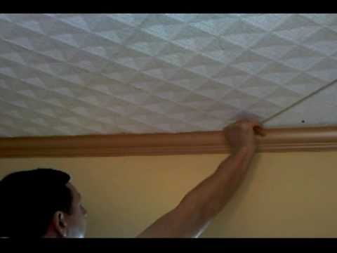 Styrofoam 20x20 Ceiling Tiles Installation Instructions