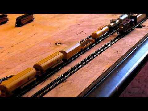 "Marklin & Micro-Trains Z scale:""сверхбольшой"" состав"