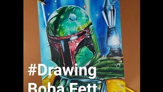 Video Boba Fett Drawing Fan Art - Star Wars download MP3, 3GP, MP4, WEBM, AVI, FLV November 2017