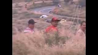 Carrera Panamericana 2013 Porsche Amarillo y Plata Crash choque
