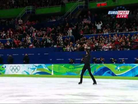 Evan Lysacek Vancouver Olympic Games 2010