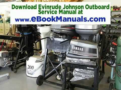 Download 1990 2001 Evinrude Johnson Outboard Service Manual 1 HP To 300 HP PDF