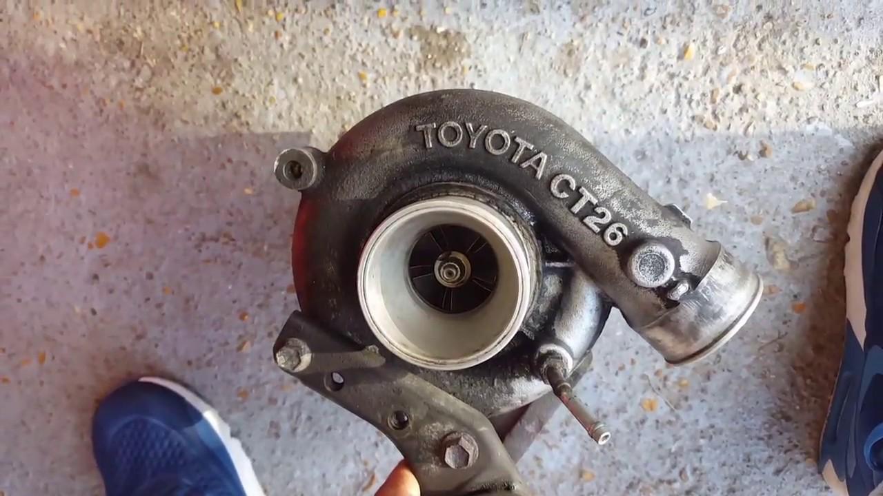 Toyota MR2 turbo - CT26 installation (Preparation Part 1)