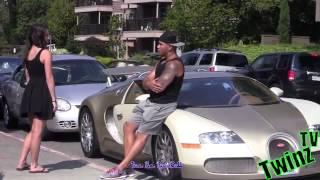 как девушки ведутся на дорогие авто / розыгрыш девушек