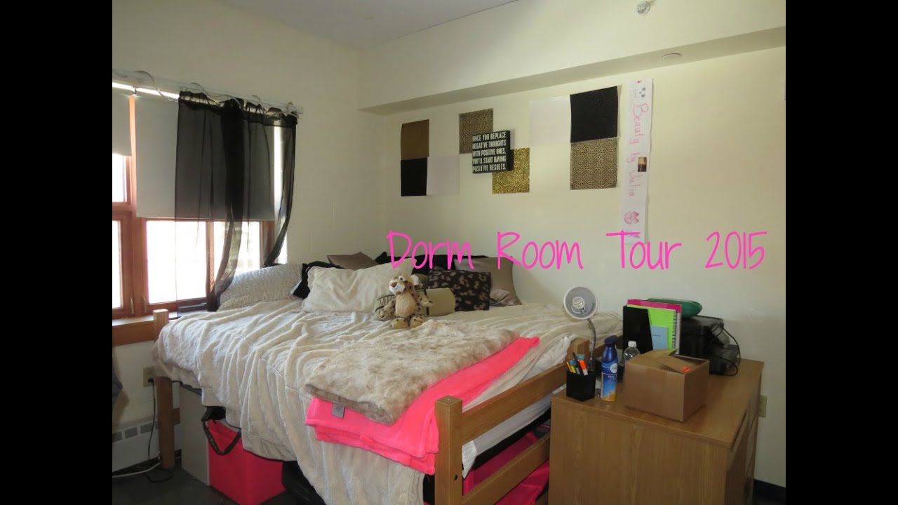 dorm room tour a double room to myself youtube 14324 | maxresdefault