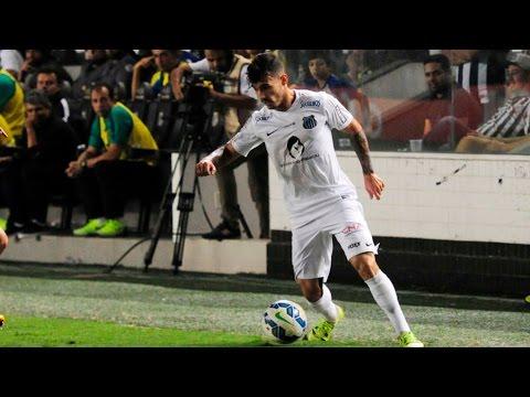 Santos 3 x 0 Coritiba | MELHORES MOMENTOS | Brasileirão (08/08/15)