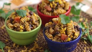 One-Pot Taco Pasta with Mind Over Munch!