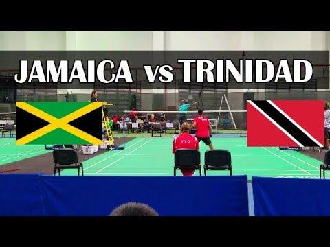 BADMINTON | JAMAICA VS TRINIDAD | PANAM CONTINENTAL |  (TEAM CHAMPIONSHIPS) |
