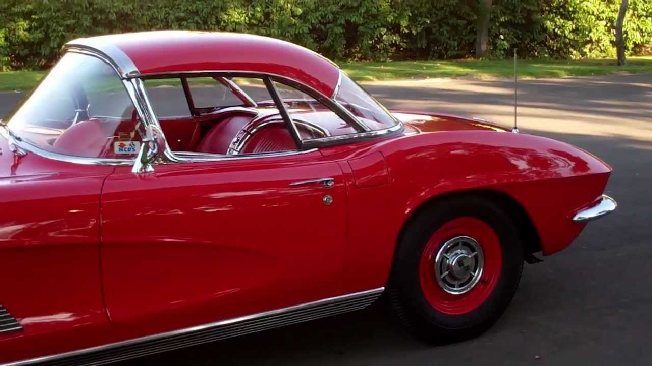 1961 Corvette For Sale >> SOLD C! 1962 Red FI Fuelie Fuel injected Corvette for 4 sale by Corvette Mike Com - YouTube