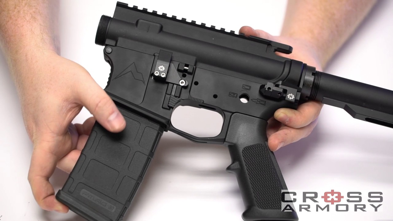 Cross Armory Safe Mag And Quick Pins Youtube