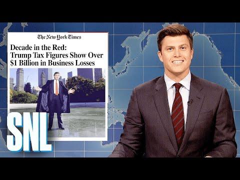 Weekend Update: Trump Lost Over $1 Billion - SNL