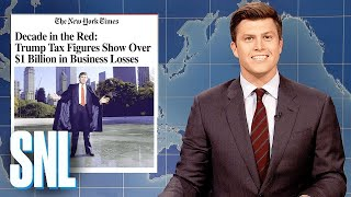 Weekend Update: Trump Lost Over $1 Billion - SNL
