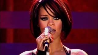 Rihanna - Rehab Live Manchester Arena HD