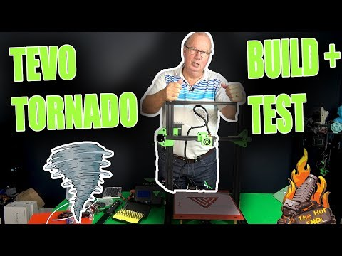 Tevo Tornado Unboxing Build and First Prints! The First Actual CR-10 Killer?