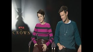 Gambar cover The Crown stars Claire Foy and Matt Smith test their royal knowledge | 5 News