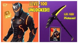 DAKOTAZ UNLOCKS LEVEL 100 OMEGA UPGRADED SKIN & PICKAXE!! (Fortnite Battle Royale Highlights!)