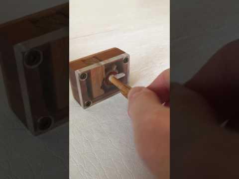 Wooden Puzzle Box 1