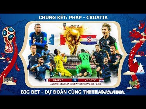 Soi kèo chung kết World Cup 2018: Pháp thắng chật vật Croatia ?