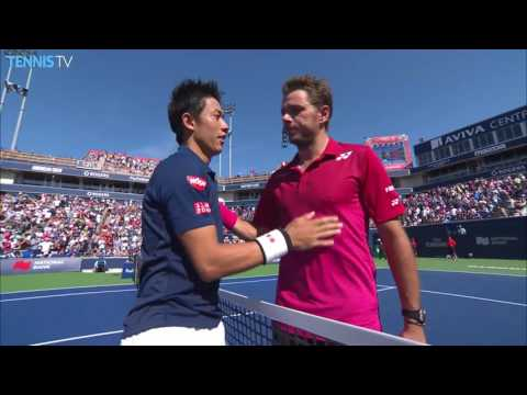 Djokovic And Nishikori Win In Toronto 2016 SF Highlights