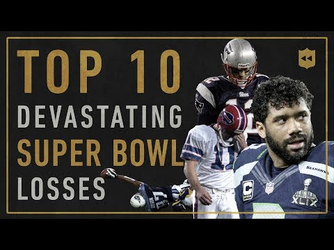 Top 10 Most Devastating Super Bowl Losses of All-Time | Vault Stories