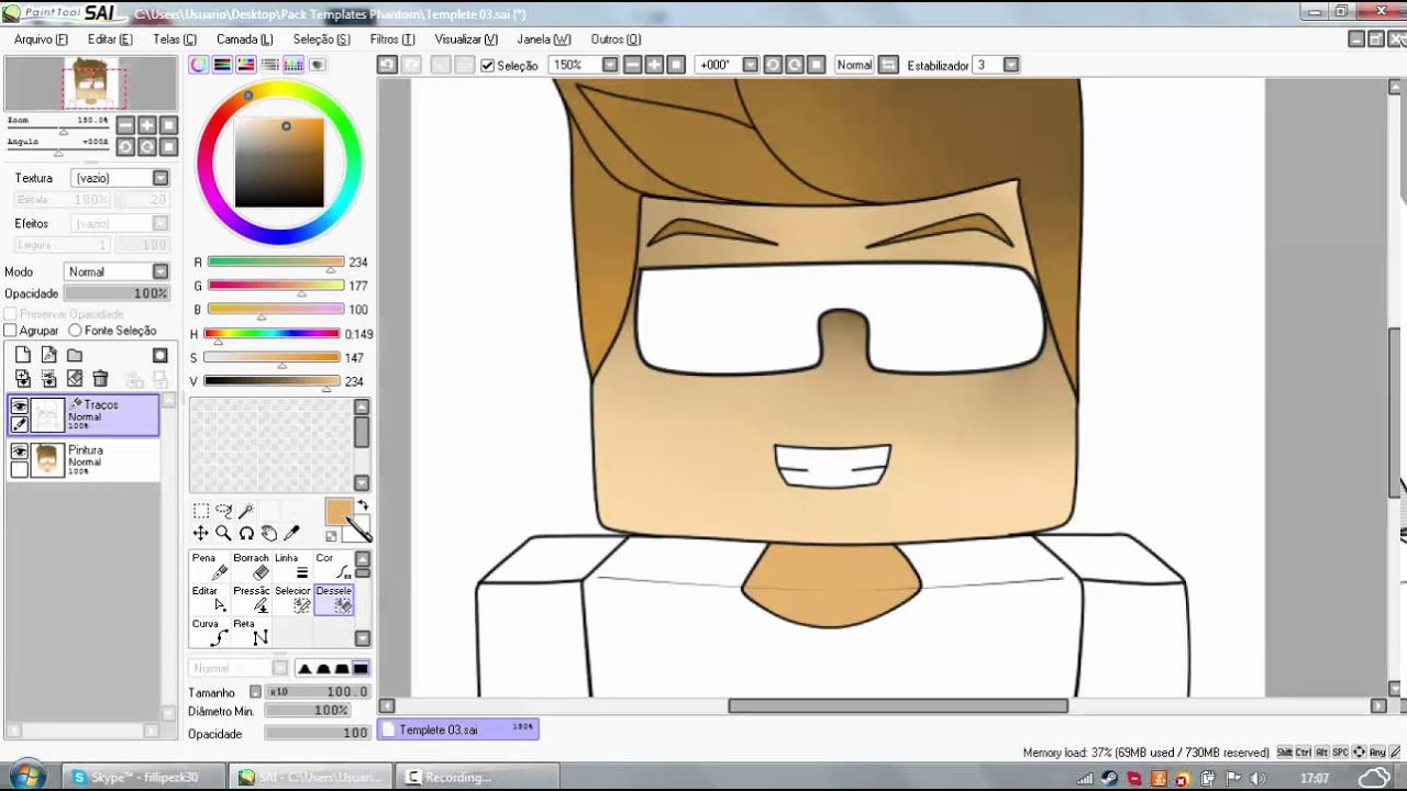 how to make a cartoon avatar for youtube