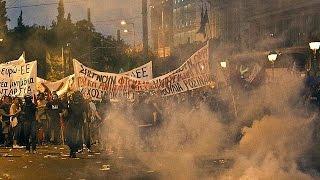 Affrontements à Athènes en marge du vote sur le plan de réformes