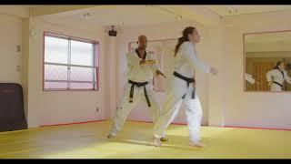 Hoshinsul #9 Rear choke counter (For Quiet Flame Taekwondo brown belt)