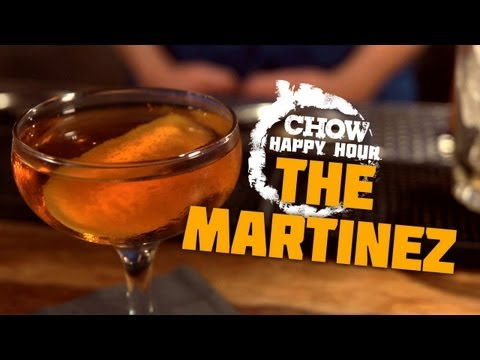 Make The Martinez and the Fun Train - CHOW Happy Hour Images