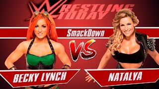 Download WWE SmackDown/ BECKY LYNCH VS. NATALYAБекки Линч vs. Наталья Mp3 and Videos