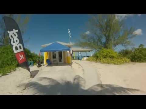 Kitesurfing School in Columbus Isle: San Salvador, Bahamas