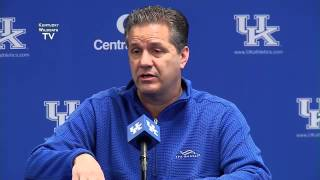 Kentucky Wildcats TV: Coach Calipari Postseason Wrap Up Press Conference