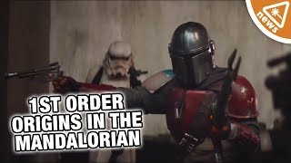 Star Wars: How The Mandalorian Will Reveal the First Order's Origin! (Nerdist News w/ Amy Vorpahl)