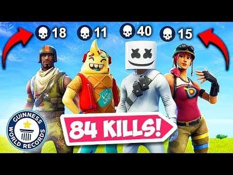 *WORLD RECORD* 84 KILLS BY 1 SQUAD! - Fortnite Funny Fails and WTF Moments! #477 thumbnail