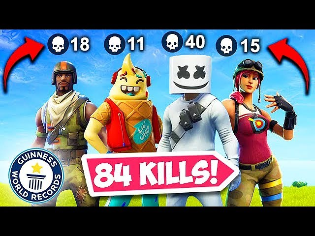 * WELTREKORD * 84 TÖRE DURCH 1 SQUAD! - Fortnite Funny Fails und WTF Moments! # 477 + video