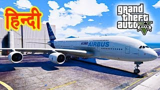 GTA 5 - A380 Airbus With Franklin Pilot