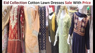 Eid Collection Ladies Cotton Lawn Dresses Sale With Price || Millennium Shopping Mall
