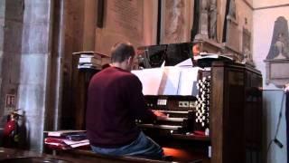 "Organist Rob Charles plays ""Fanfares With Promenardes Rosalie Bonighton"""