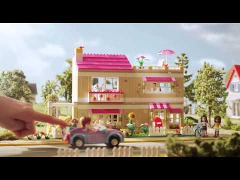 Lego friends vriendenhuis youtube