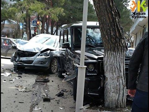 Аварии Краснодар март 2017