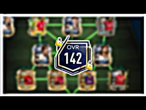 Max 142 OVR Team | Last Team Upgrade In Fifa Mobile 19