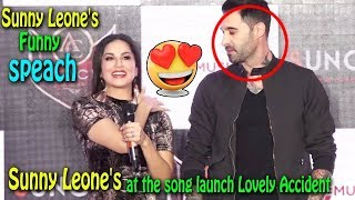Sunny Leone At Song Launch Event Of 'Accident Lovely'