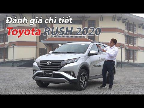 Đánh giá chi tiết Toyota Rush: Đáng mua trong phân khúc xe gia đình