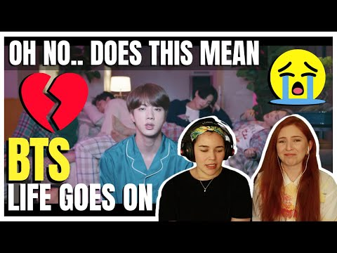 IT'S HERE! Musicians React to BTS 'Life Goes On' Official MV