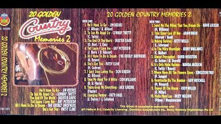 download video musik      20 Golden Country Memories 2